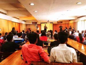 Kartik Ahuja Speaking at Young Engine